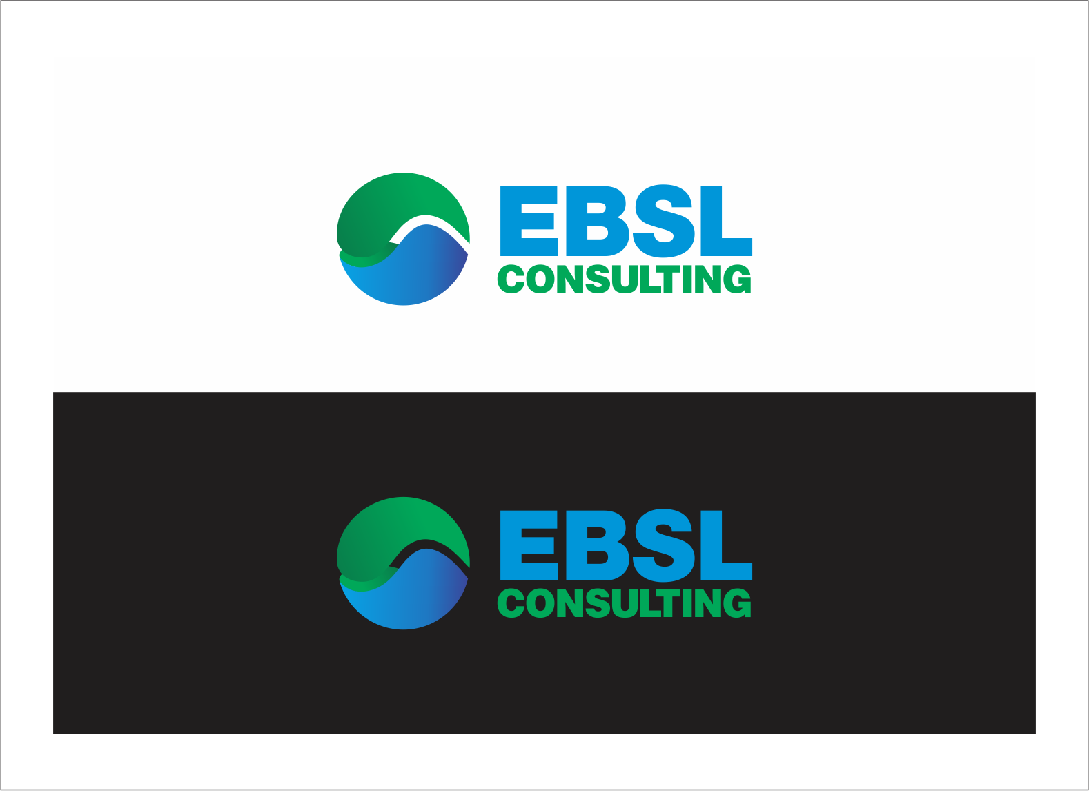 Logo Design by fathdesigner - Entry No. 57 in the Logo Design Contest EBSL Consulting Logo Design.