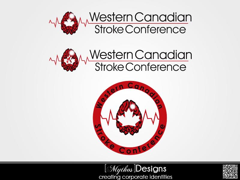 Logo Design by Mythos Designs - Entry No. 58 in the Logo Design Contest Artistic Logo Design for Western Canadian Stroke Conference.