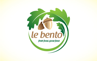 Logo Design by Shahriar Zaman - Entry No. 42 in the Logo Design Contest Captivating Logo Design for Le Bento.