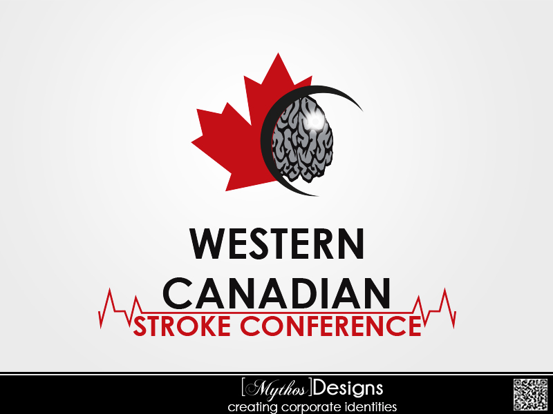 Logo Design by Mythos Designs - Entry No. 63 in the Logo Design Contest Artistic Logo Design for Western Canadian Stroke Conference.
