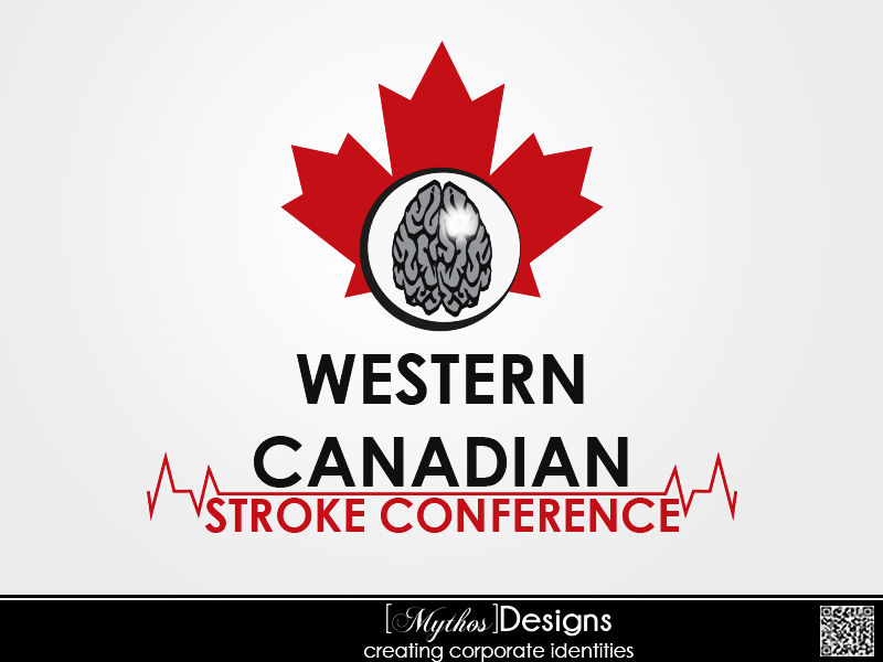 Logo Design by Mythos Designs - Entry No. 64 in the Logo Design Contest Artistic Logo Design for Western Canadian Stroke Conference.