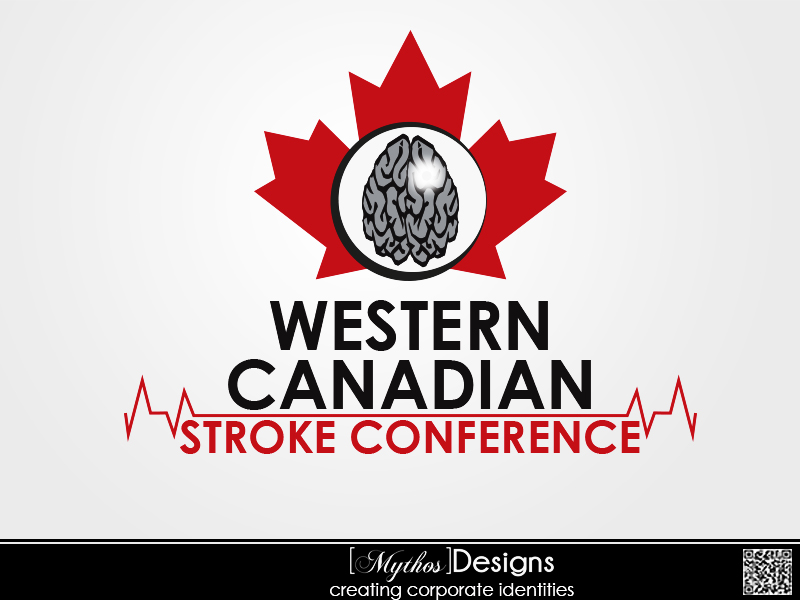 Logo Design by Mythos Designs - Entry No. 65 in the Logo Design Contest Artistic Logo Design for Western Canadian Stroke Conference.