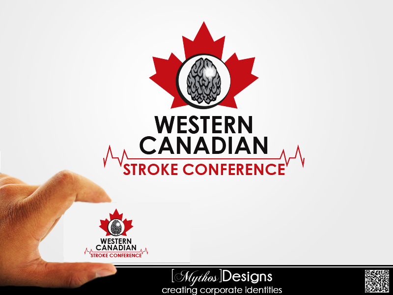 Logo Design by Mythos Designs - Entry No. 66 in the Logo Design Contest Artistic Logo Design for Western Canadian Stroke Conference.