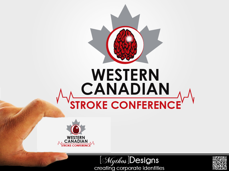 Logo Design by Mythos Designs - Entry No. 67 in the Logo Design Contest Artistic Logo Design for Western Canadian Stroke Conference.
