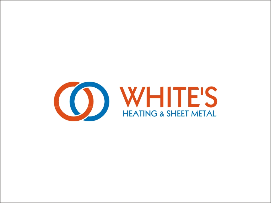 Logo Design by RED HORSE design studio - Entry No. 76 in the Logo Design Contest Imaginative Logo Design for White's Heating and Sheet Metal.