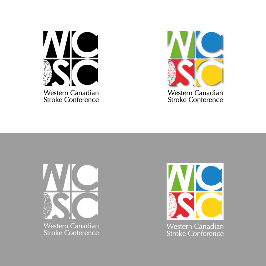Logo Design by Kalinoe - Entry No. 71 in the Logo Design Contest Artistic Logo Design for Western Canadian Stroke Conference.