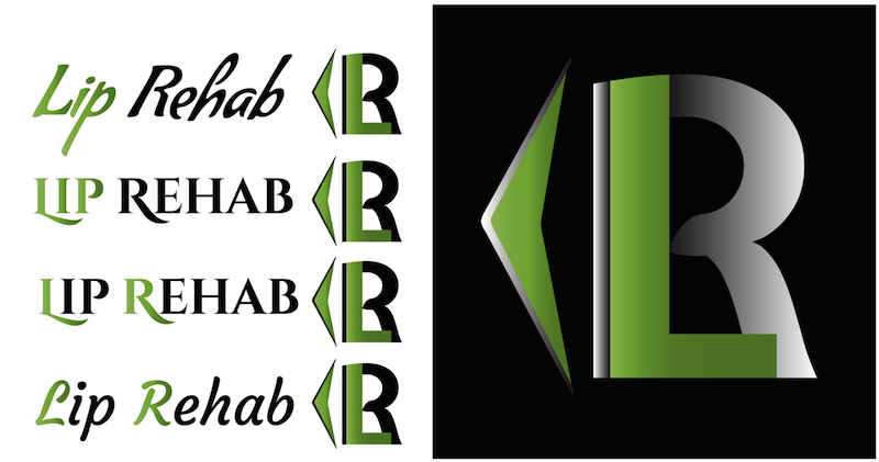 Logo Design by Thanasis Athanasopoulos - Entry No. 246 in the Logo Design Contest Creative Logo Design for Lip Rehab.