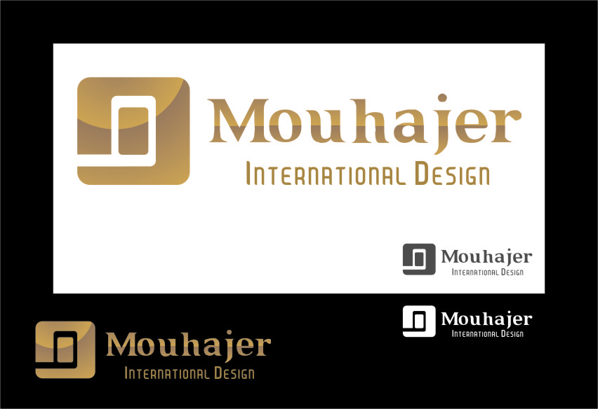 Logo Design by RasYa Muhammad Athaya - Entry No. 58 in the Logo Design Contest Unique Logo Design Wanted for Mouhajer International Design.