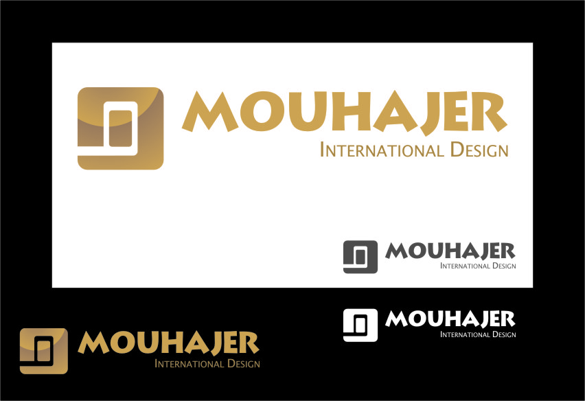 Logo Design by RasYa Muhammad Athaya - Entry No. 60 in the Logo Design Contest Unique Logo Design Wanted for Mouhajer International Design.