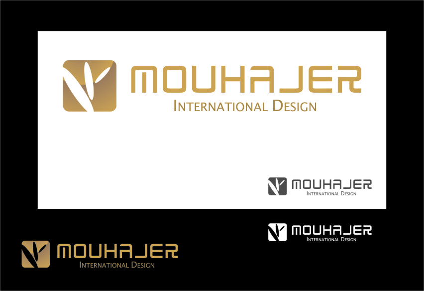 Logo Design by Ngepet_art - Entry No. 61 in the Logo Design Contest Unique Logo Design Wanted for Mouhajer International Design.
