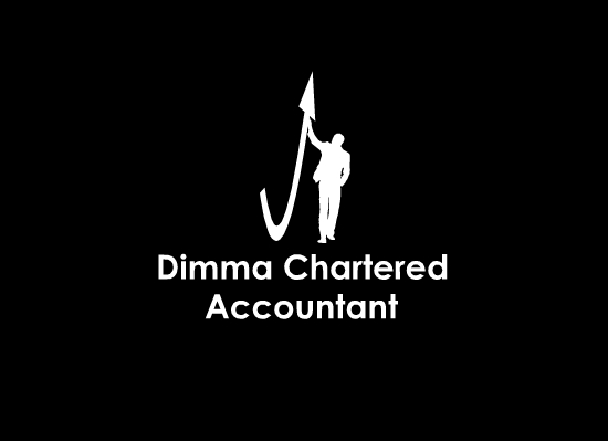 Logo Design by Ismail Adhi Wibowo - Entry No. 1 in the Logo Design Contest Creative Logo Design for Dimma Chartered Accountant.