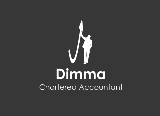 Logo Design by Ismail Adhi Wibowo - Entry No. 3 in the Logo Design Contest Creative Logo Design for Dimma Chartered Accountant.