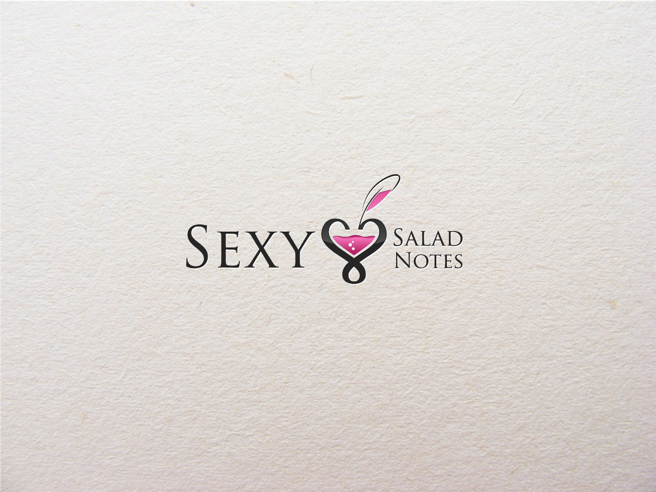 Logo Design by jpbituin - Entry No. 12 in the Logo Design Contest Artistic Logo Design for Sexy Salad Inc..
