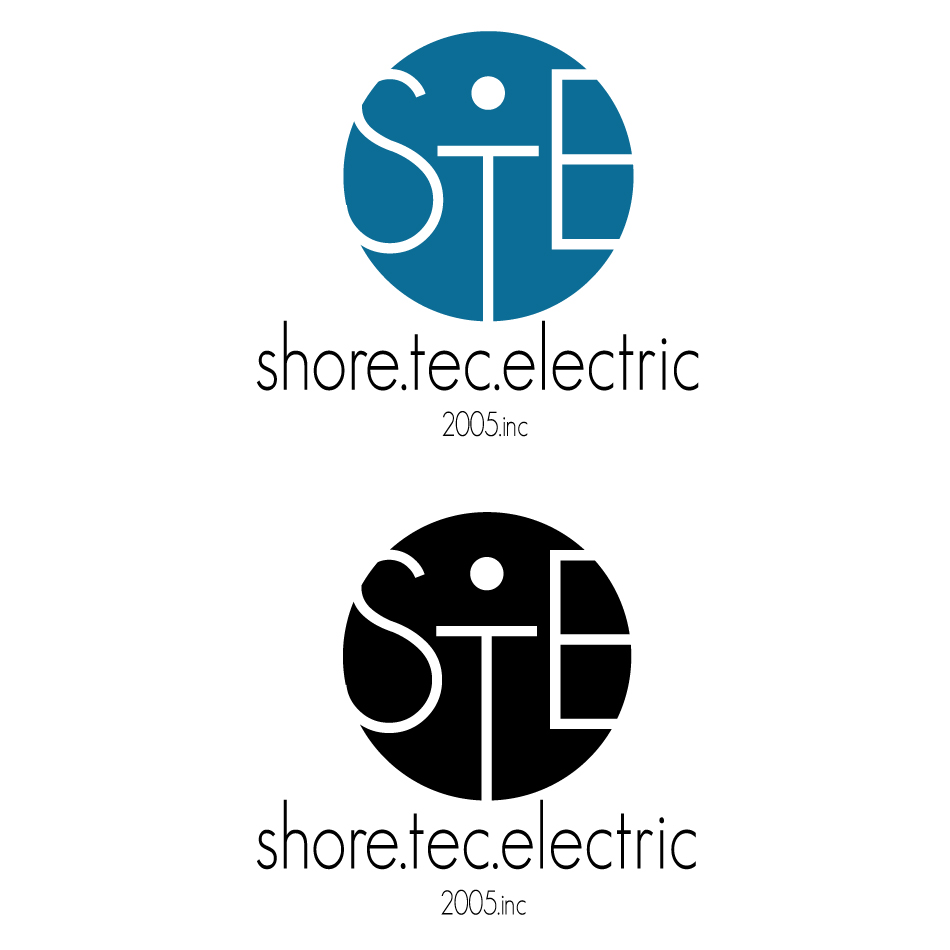 Logo Design by dada45 - Entry No. 28 in the Logo Design Contest Shore Tec Electric 2005 Inc.