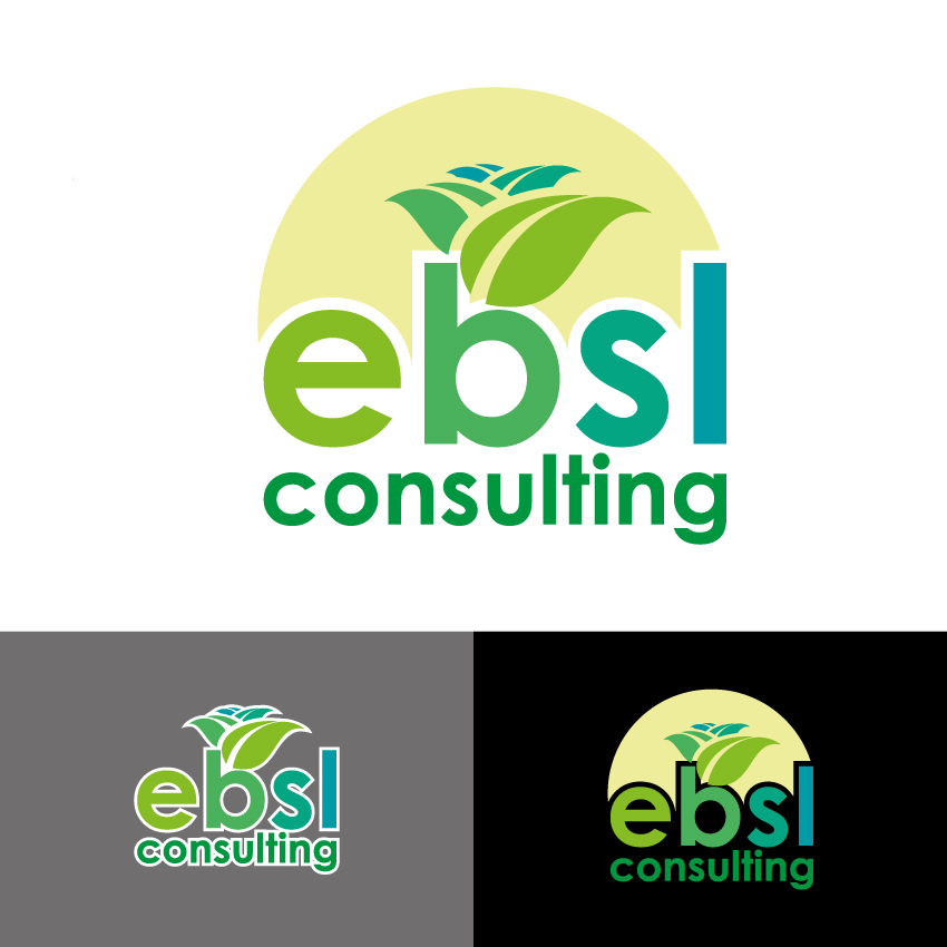 Logo Design by Kalinoe - Entry No. 62 in the Logo Design Contest EBSL Consulting Logo Design.