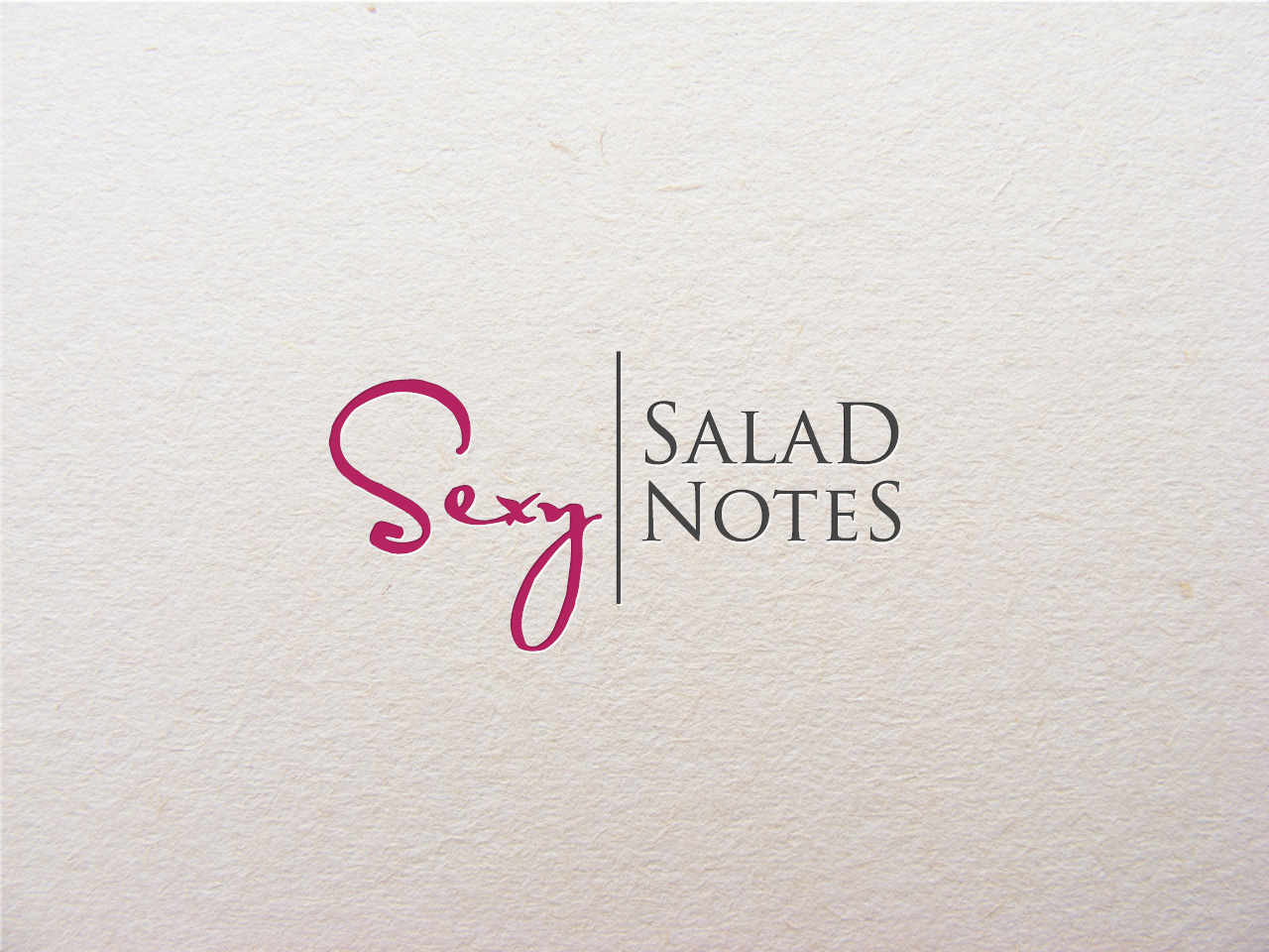 Logo Design by jpbituin - Entry No. 15 in the Logo Design Contest Artistic Logo Design for Sexy Salad Inc..