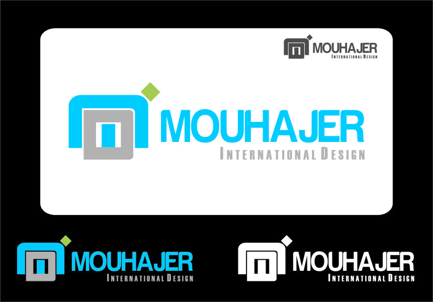 Logo Design by RasYa Muhammad Athaya - Entry No. 62 in the Logo Design Contest Unique Logo Design Wanted for Mouhajer International Design.