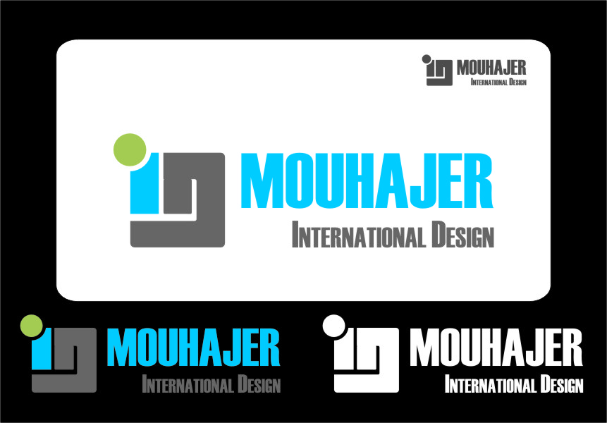 Logo Design by Ngepet_art - Entry No. 63 in the Logo Design Contest Unique Logo Design Wanted for Mouhajer International Design.