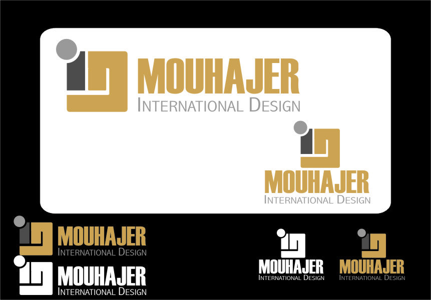 Logo Design by RasYa Muhammad Athaya - Entry No. 64 in the Logo Design Contest Unique Logo Design Wanted for Mouhajer International Design.
