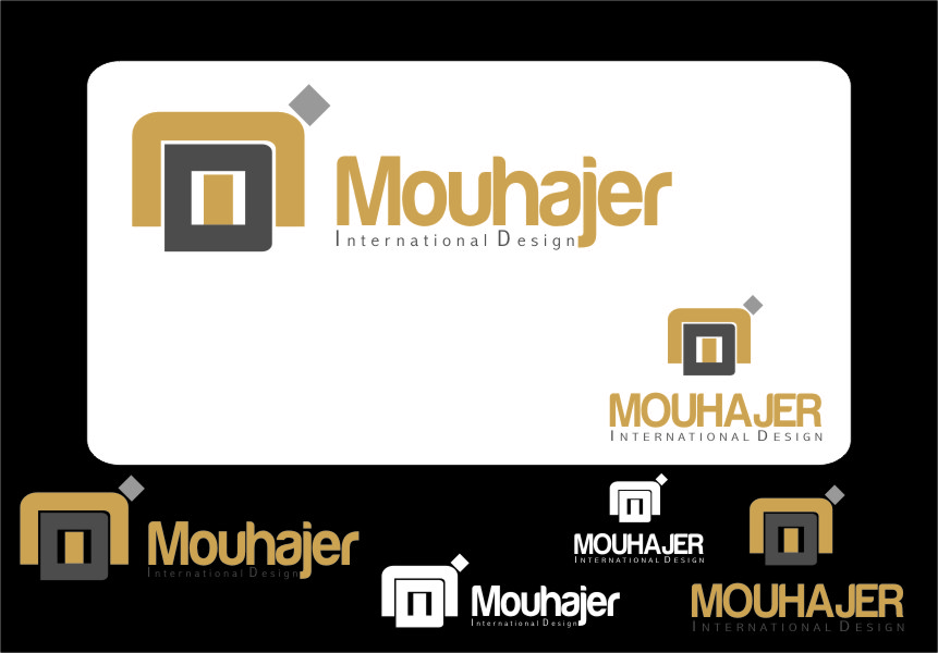 Logo Design by RasYa Muhammad Athaya - Entry No. 65 in the Logo Design Contest Unique Logo Design Wanted for Mouhajer International Design.