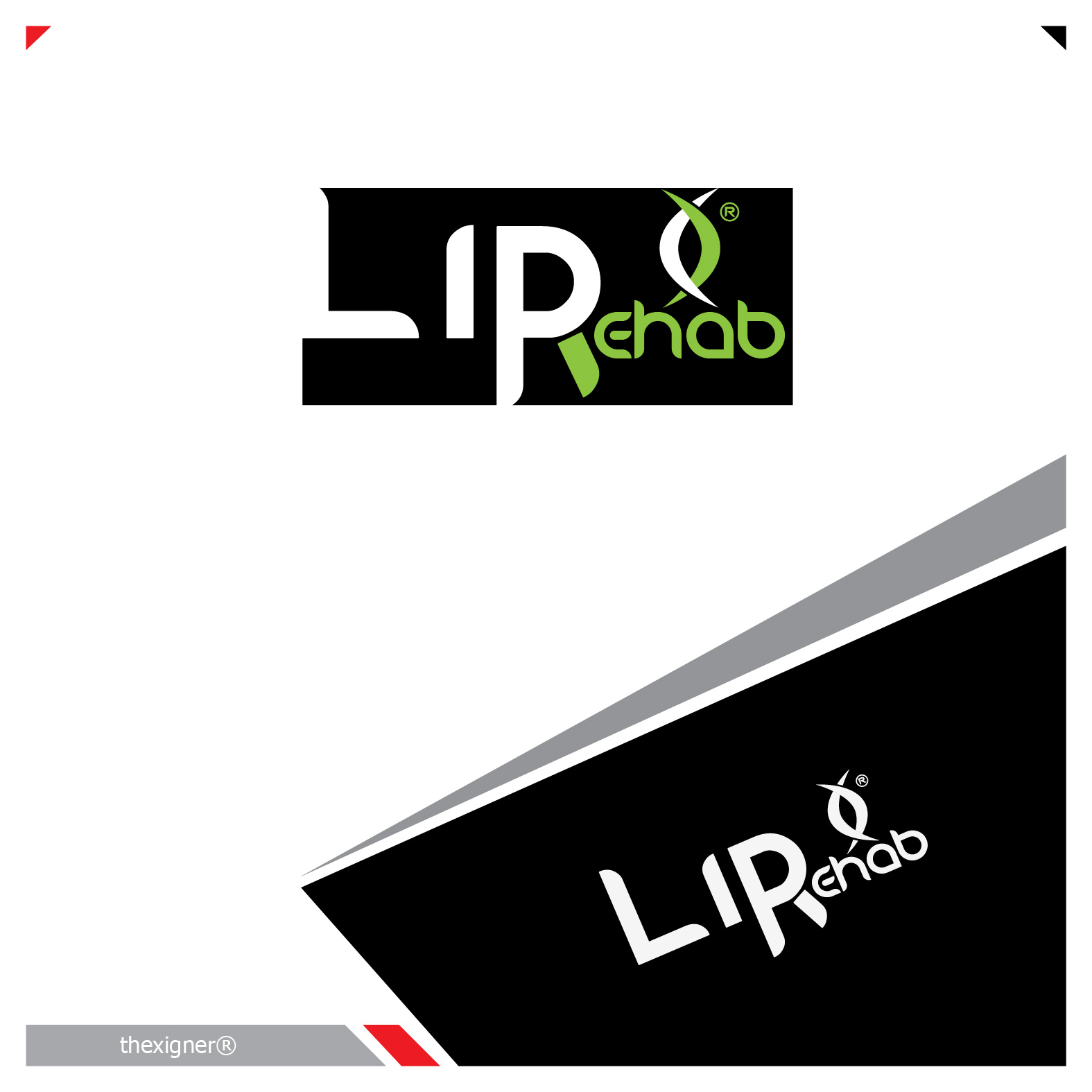 Logo Design by lagalag - Entry No. 265 in the Logo Design Contest Creative Logo Design for Lip Rehab.