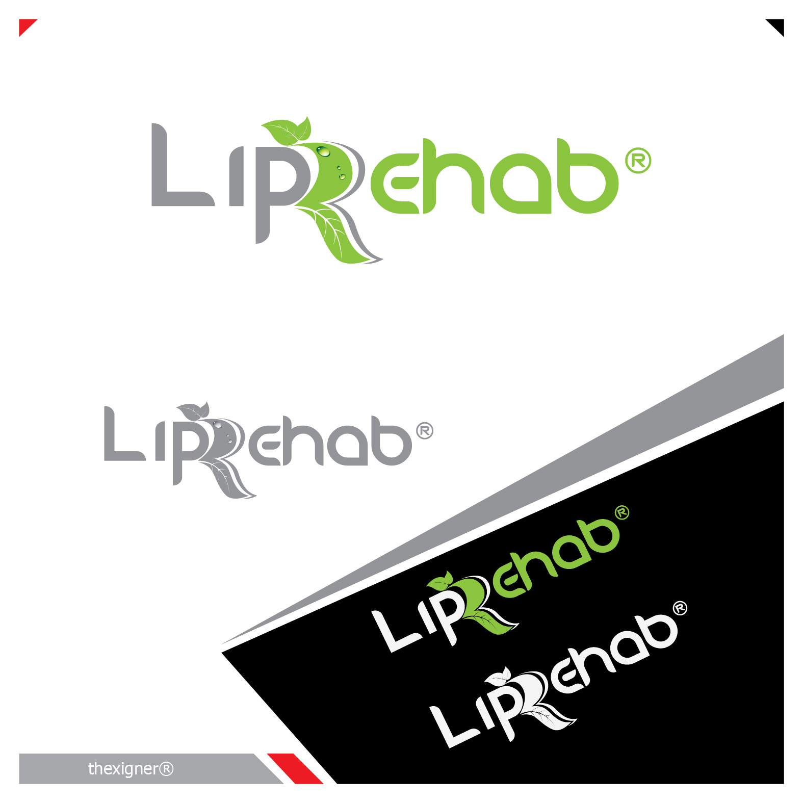 Logo Design by lagalag - Entry No. 266 in the Logo Design Contest Creative Logo Design for Lip Rehab.
