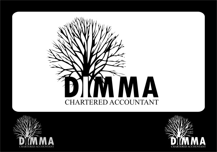 Logo Design by RasYa Muhammad Athaya - Entry No. 4 in the Logo Design Contest Creative Logo Design for Dimma Chartered Accountant.