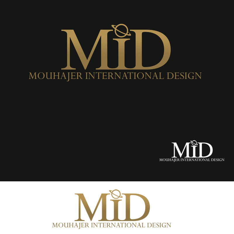Logo Design by Private User - Entry No. 70 in the Logo Design Contest Unique Logo Design Wanted for Mouhajer International Design.