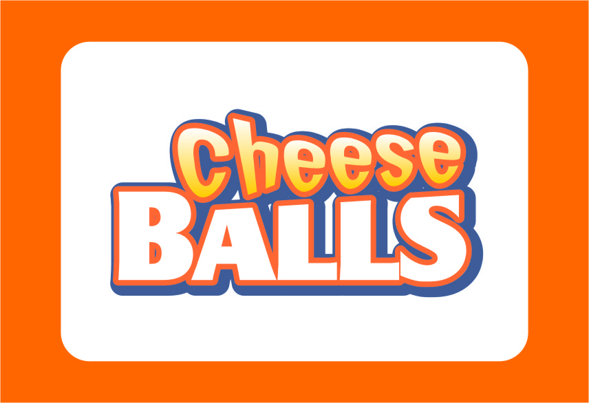 Logo Design by RasYa Muhammad Athaya - Entry No. 47 in the Logo Design Contest Imaginative Logo Design for Cheese Balls.