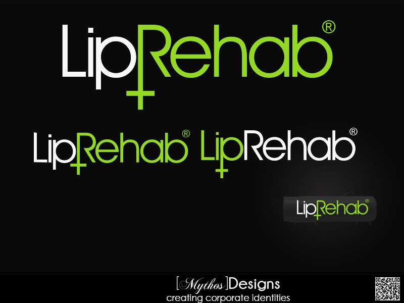 Logo Design by Mythos Designs - Entry No. 276 in the Logo Design Contest Creative Logo Design for Lip Rehab.