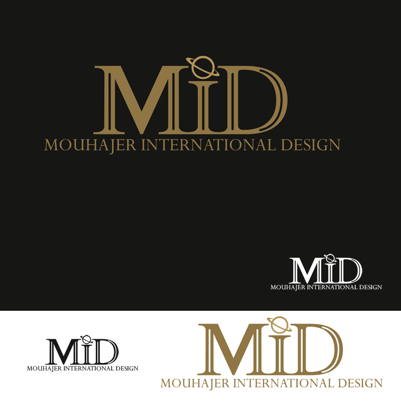 Logo Design by Robert Turla - Entry No. 71 in the Logo Design Contest Unique Logo Design Wanted for Mouhajer International Design.