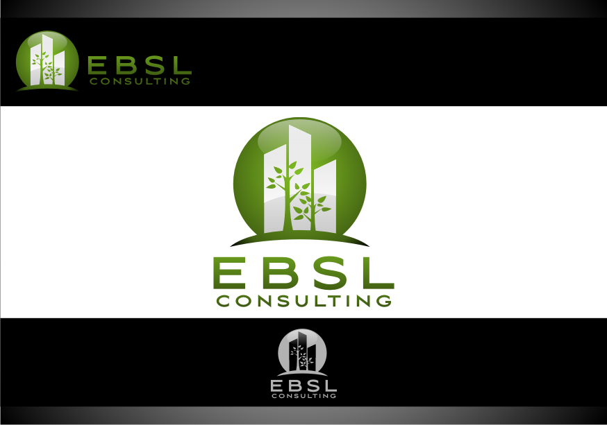 Logo Design by graphicleaf - Entry No. 65 in the Logo Design Contest EBSL Consulting Logo Design.