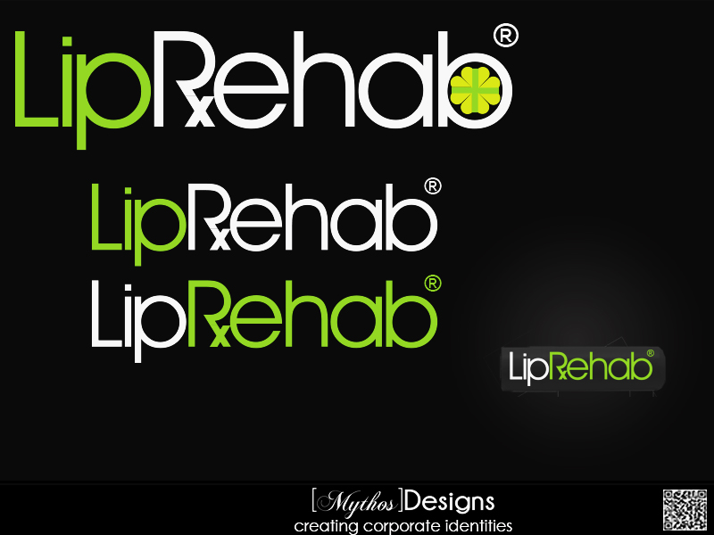 Logo Design by Mythos Designs - Entry No. 279 in the Logo Design Contest Creative Logo Design for Lip Rehab.