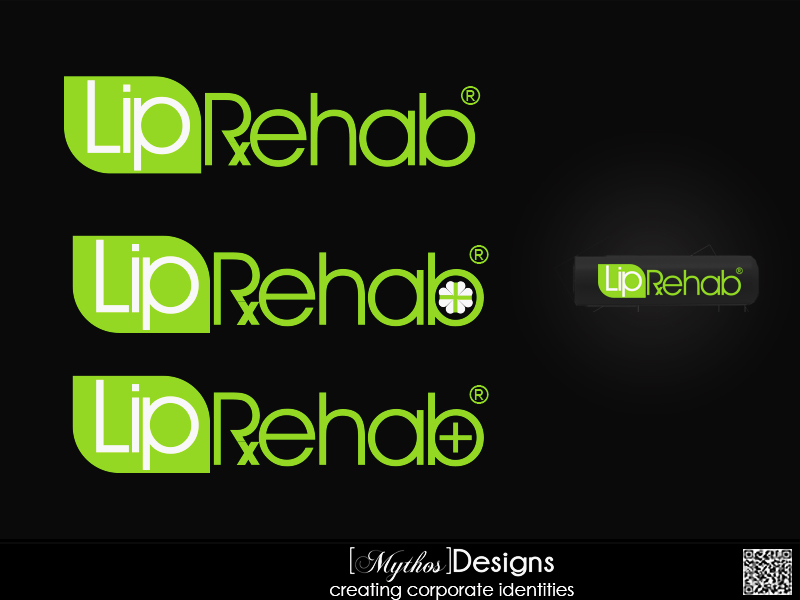 Logo Design by Mythos Designs - Entry No. 280 in the Logo Design Contest Creative Logo Design for Lip Rehab.