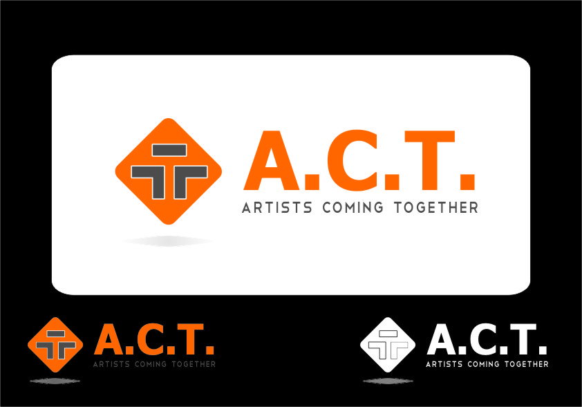 Logo Design by RasYa Muhammad Athaya - Entry No. 36 in the Logo Design Contest Creative Logo Design for A.C.T. Artists Coming Together.