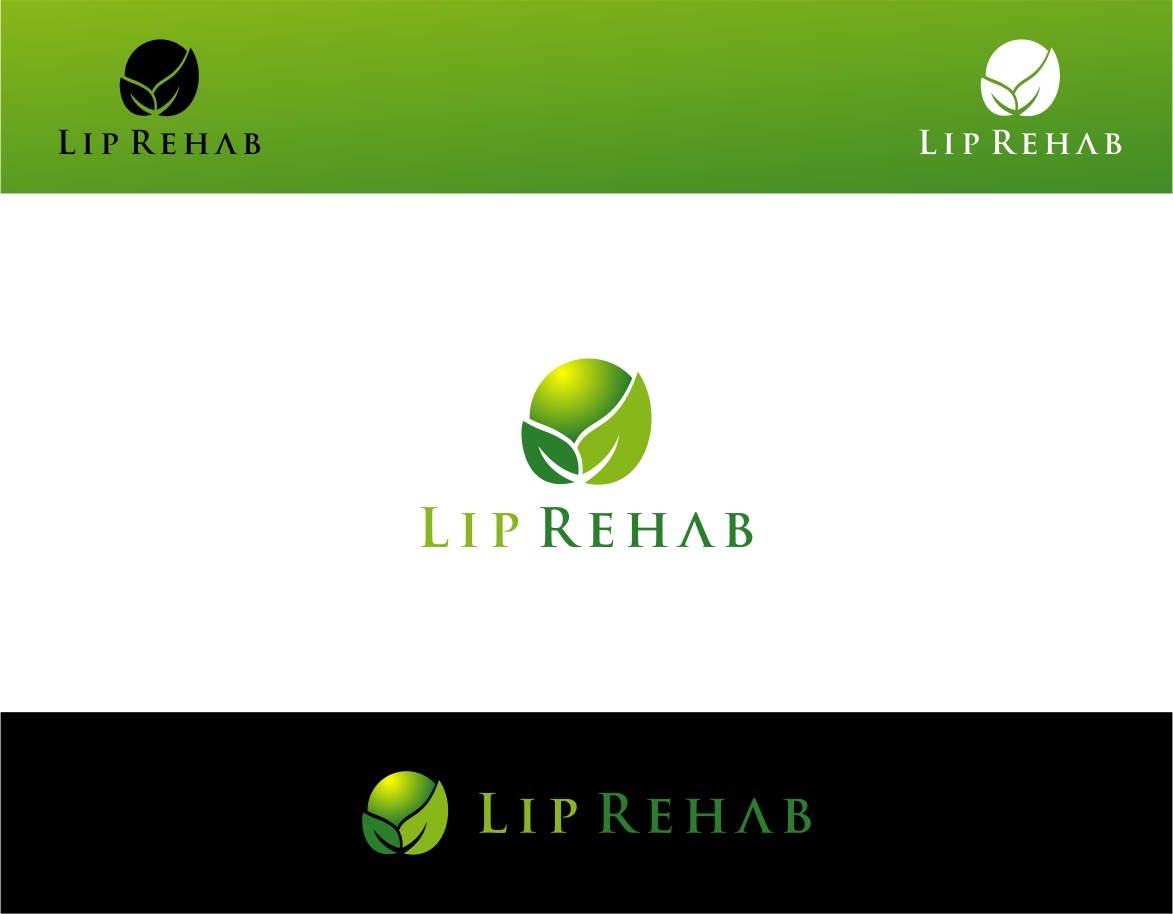 Logo Design by haidu - Entry No. 282 in the Logo Design Contest Creative Logo Design for Lip Rehab.