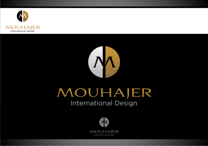 Logo Design by graphicleaf - Entry No. 73 in the Logo Design Contest Unique Logo Design Wanted for Mouhajer International Design.