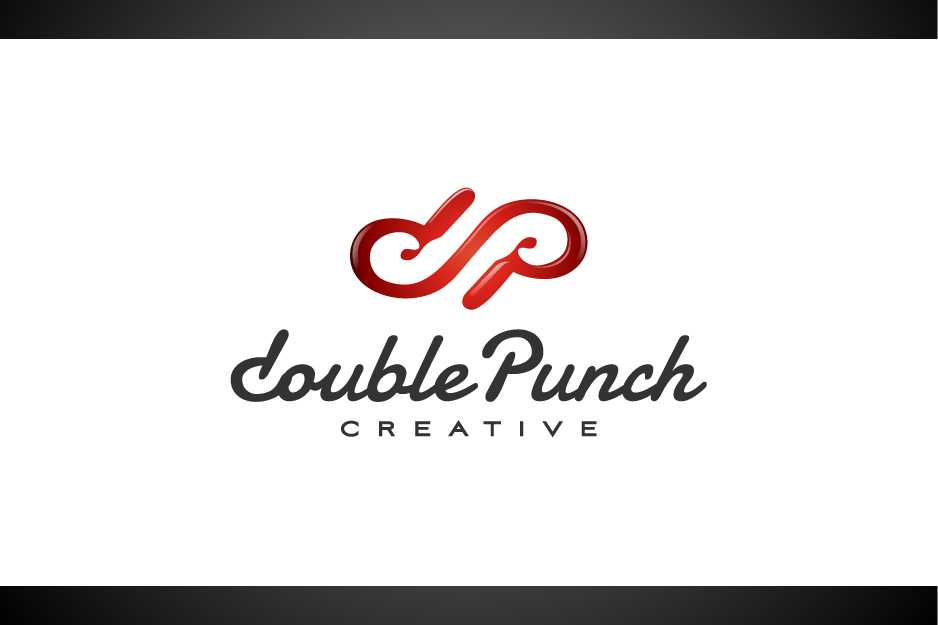 Logo Design by Muhammad Nasrul chasib - Entry No. 4 in the Logo Design Contest Unique Logo Design Wanted for Double Punch Creative.
