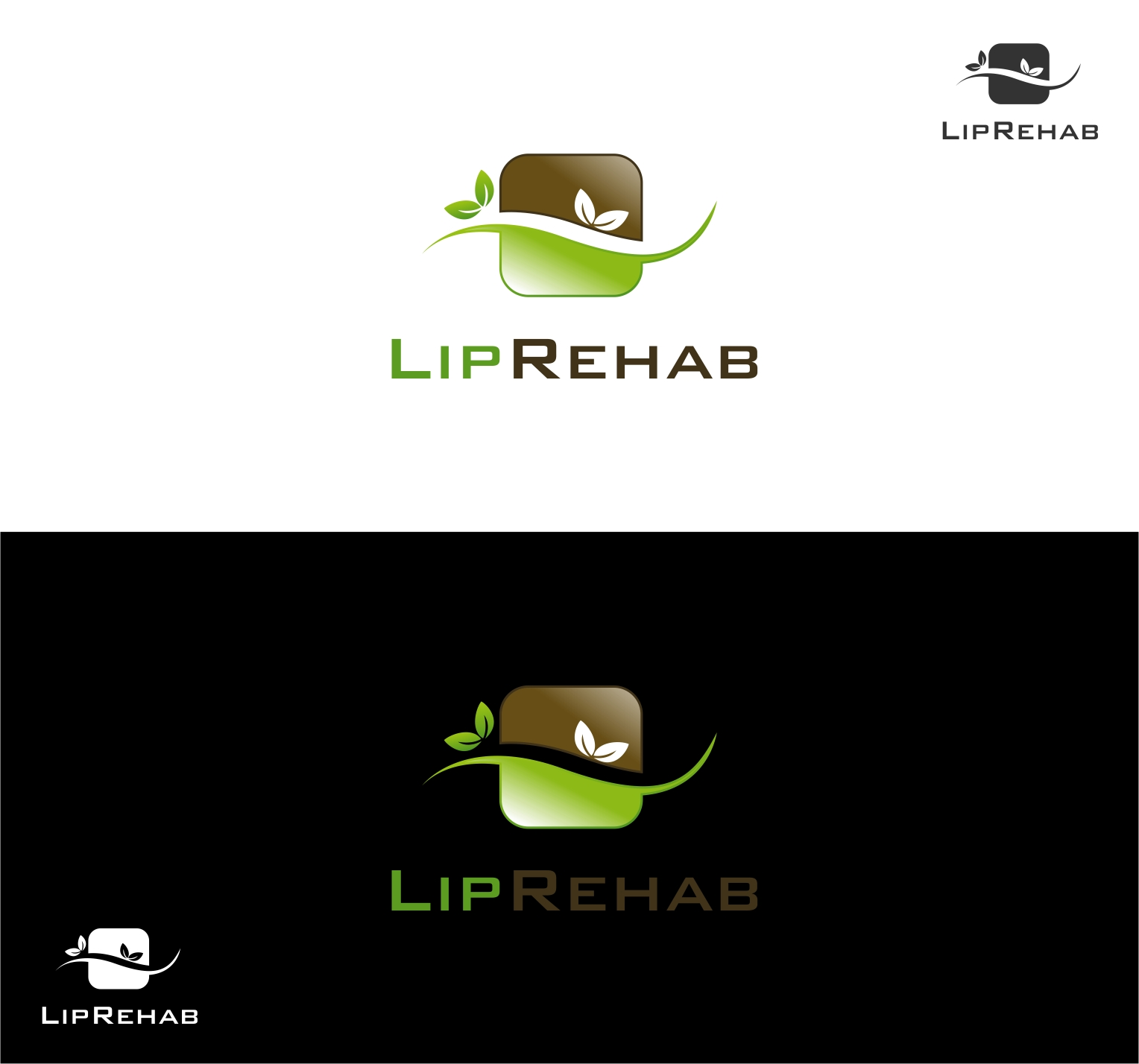 Logo Design by haidu - Entry No. 291 in the Logo Design Contest Creative Logo Design for Lip Rehab.