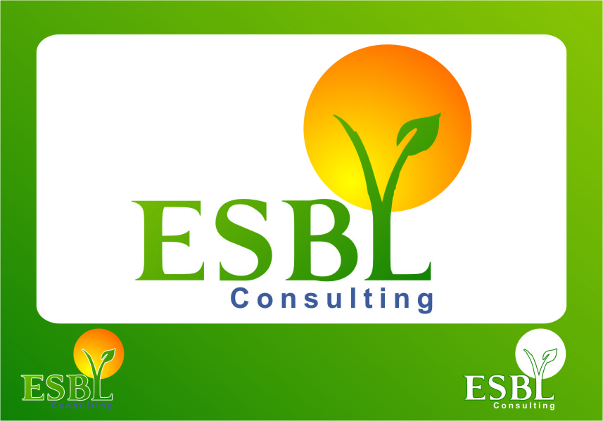 Logo Design by RoSyid Rono-Rene On Java - Entry No. 69 in the Logo Design Contest EBSL Consulting Logo Design.