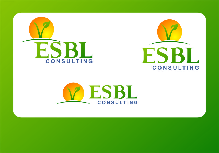 Logo Design by RasYa Muhammad Athaya - Entry No. 70 in the Logo Design Contest EBSL Consulting Logo Design.