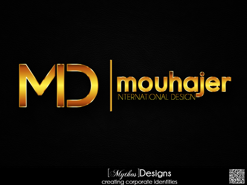 Logo Design by Mythos Designs - Entry No. 74 in the Logo Design Contest Unique Logo Design Wanted for Mouhajer International Design.