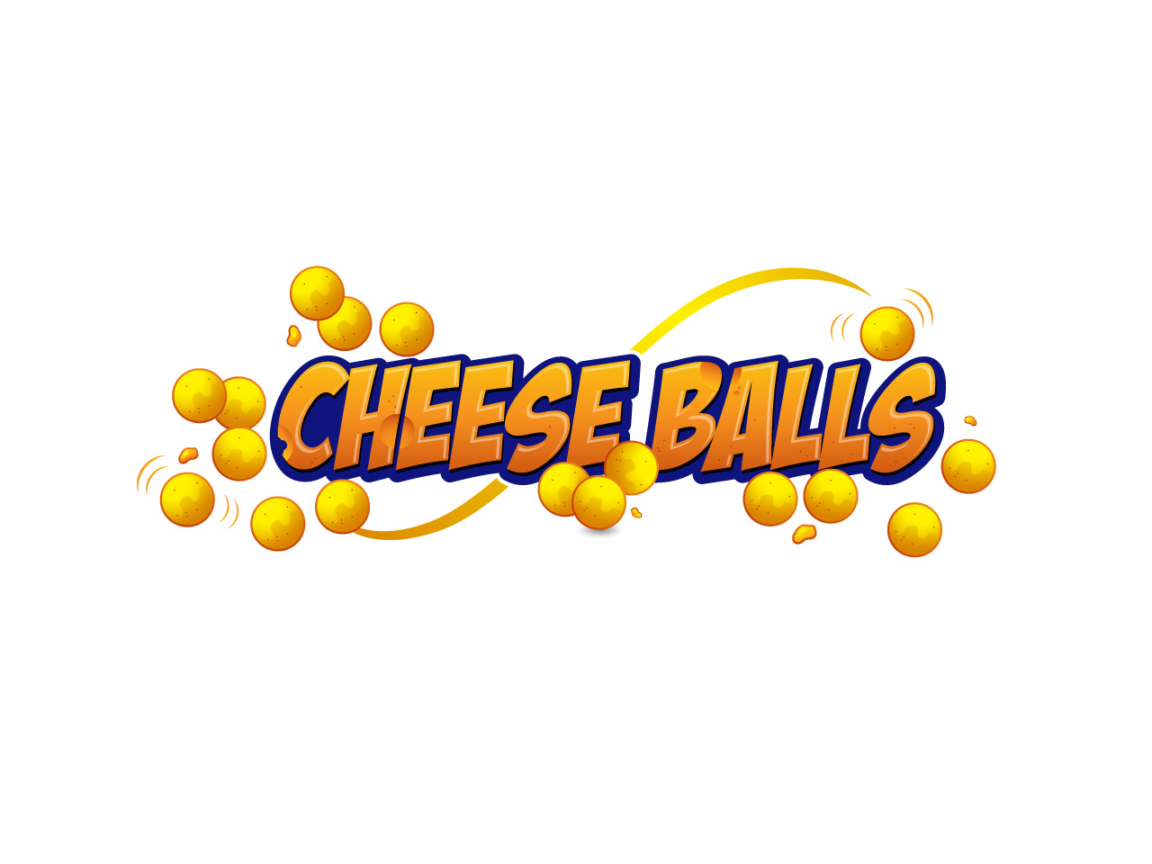 Logo Design by jpbituin - Entry No. 48 in the Logo Design Contest Imaginative Logo Design for Cheese Balls.