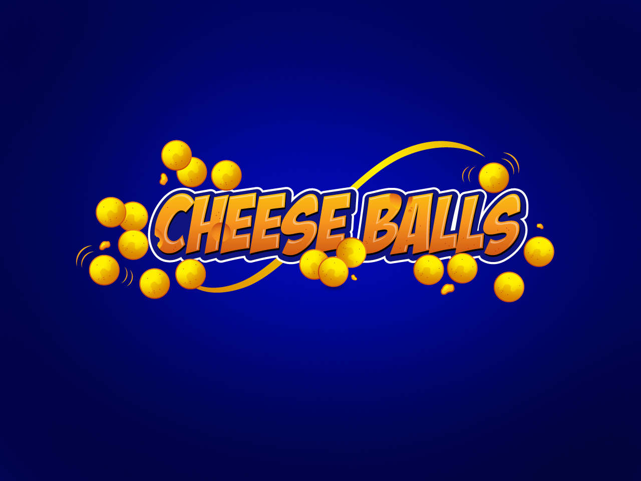 Logo Design by jpbituin - Entry No. 49 in the Logo Design Contest Imaginative Logo Design for Cheese Balls.