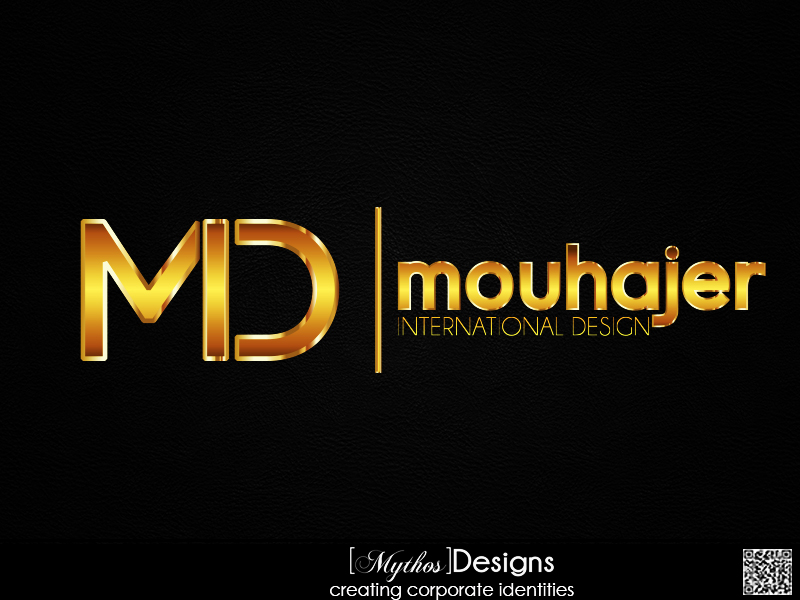 Logo Design by Mythos Designs - Entry No. 75 in the Logo Design Contest Unique Logo Design Wanted for Mouhajer International Design.