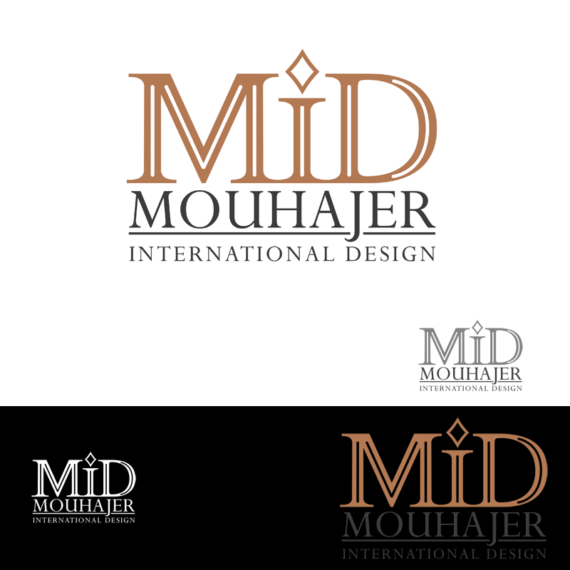 Logo Design by Private User - Entry No. 76 in the Logo Design Contest Unique Logo Design Wanted for Mouhajer International Design.