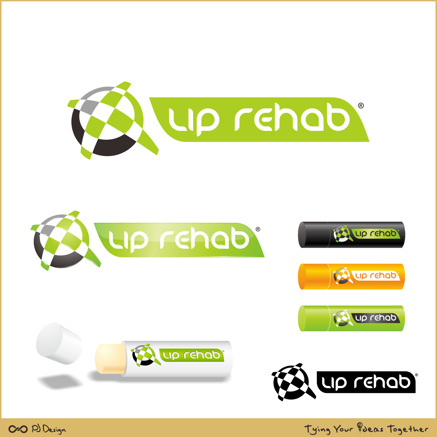Logo Design by PJD - Entry No. 297 in the Logo Design Contest Creative Logo Design for Lip Rehab.