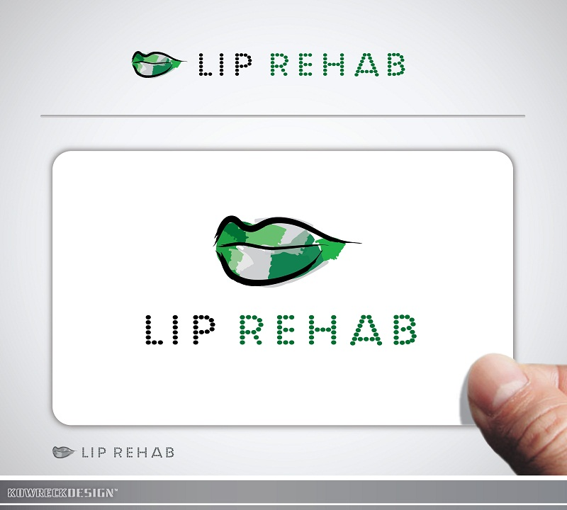 Logo Design by kowreck - Entry No. 301 in the Logo Design Contest Creative Logo Design for Lip Rehab.