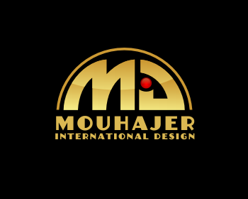 Logo Design by Rudy - Entry No. 81 in the Logo Design Contest Unique Logo Design Wanted for Mouhajer International Design.