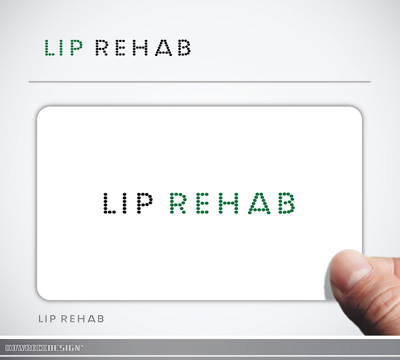 Logo Design by kowreck - Entry No. 302 in the Logo Design Contest Creative Logo Design for Lip Rehab.